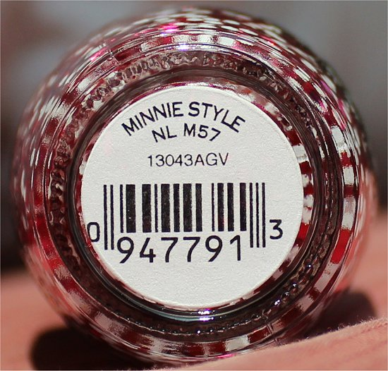 OPI Minnie Style Couture de Minnie