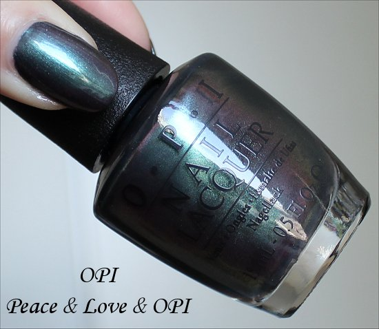 OPI Peace & Love & OPI San Francisco Collection Swatches & Review