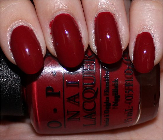 OPI San Francisco Collection Swatches First Date at the Golden Gate Swatch