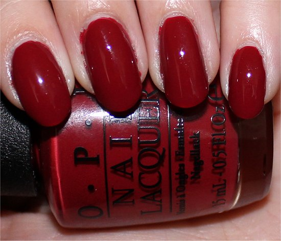 OPI San Francisco Swatches First Date at the Golden Gate Swatch