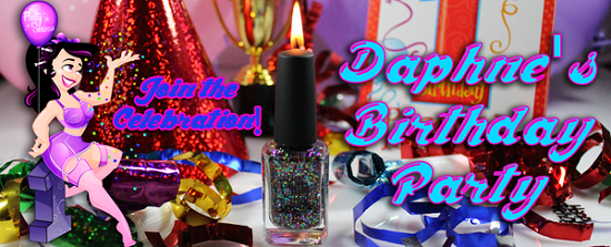 Pretty Serious Daphne's Birthday Party Press Release & Competition