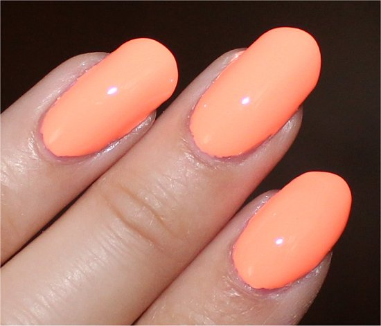 Sun of a Peach China Glaze Sunsational Collection Swatches