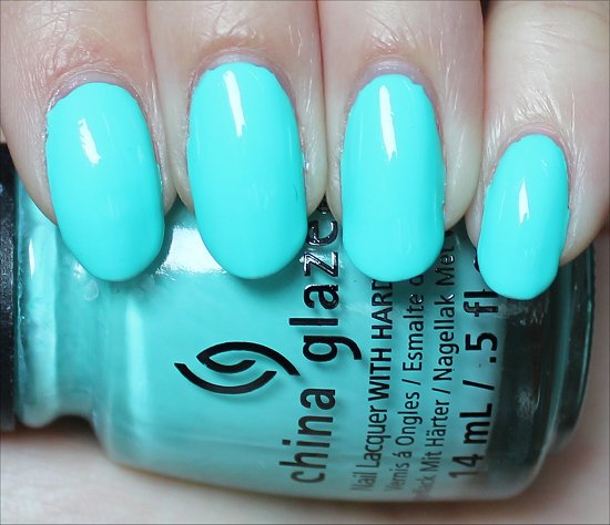 Too Yacht to Handle Sunsational China Glaze Swatch