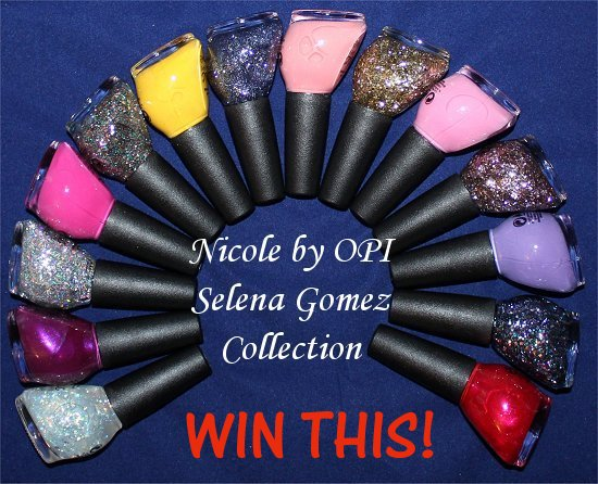 Win-the-Entire-Nicole-by-OPI-Selena-Gomez-Collection