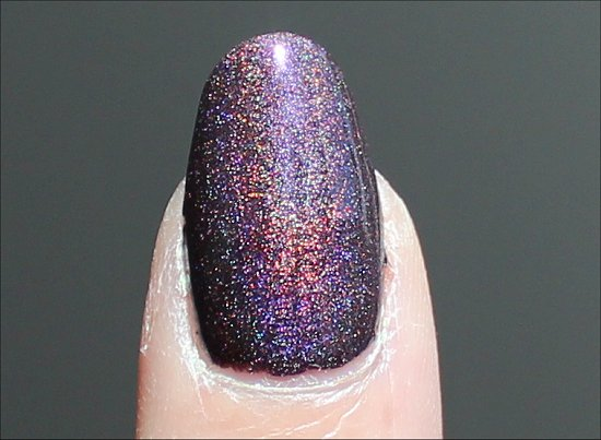 A England Holographic Nail Polish Sleeping Palace