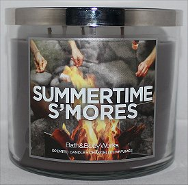 Bath & Body Works Summertime S'mores Candle Review & Pictures