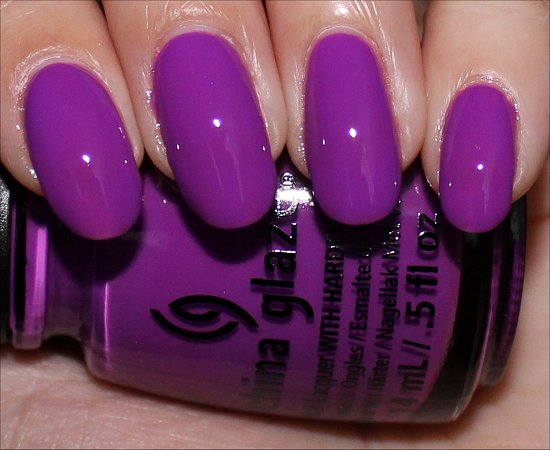 China Glaze Are You Jelly Review, Swatch & Pictures