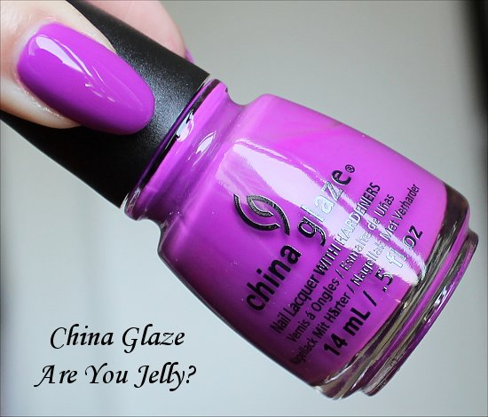 China Glaze Are You Jelly Sunsational Collection