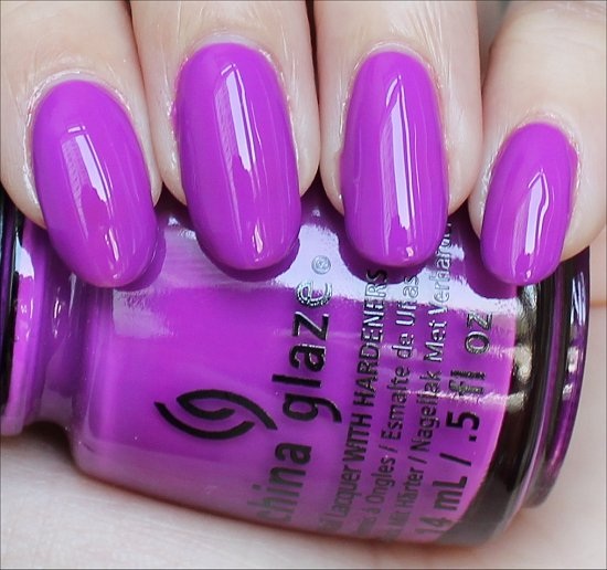 China Glaze Are You Jelly Swatch, Review & Pictures