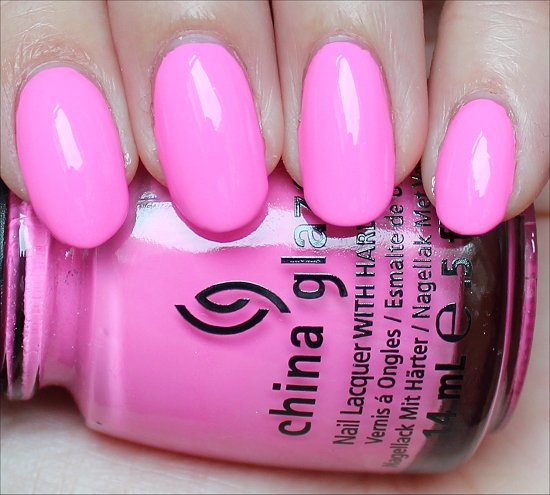 China Glaze Bottoms Up Review & Swatch