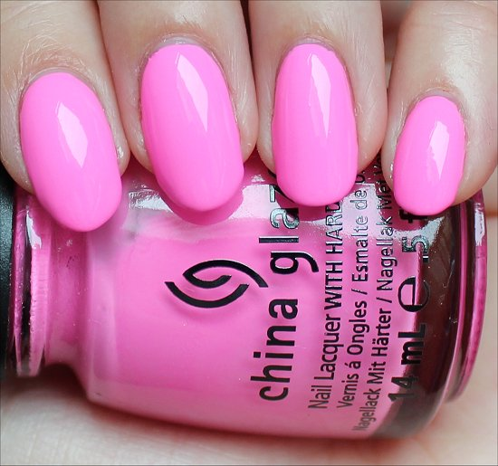 China Glaze Bottoms Up Review & Swatches