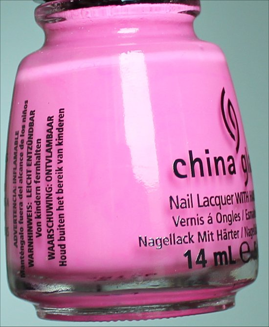 China Glaze Bottoms Up Sunsational Collection Review