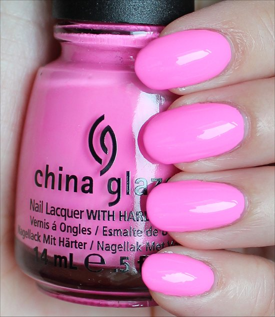 China Glaze Bottoms Up Swatches & Review