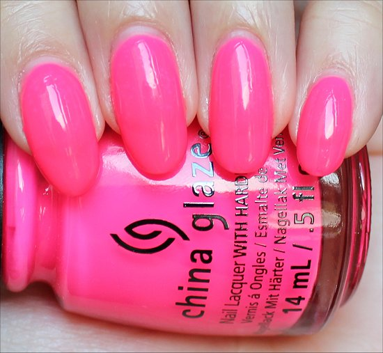 China Glaze Heat Index Review & Swatch