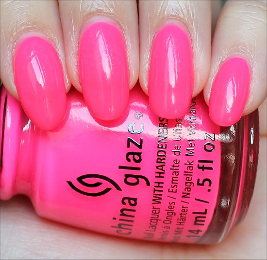China Glaze Heat Index Review & Swatches