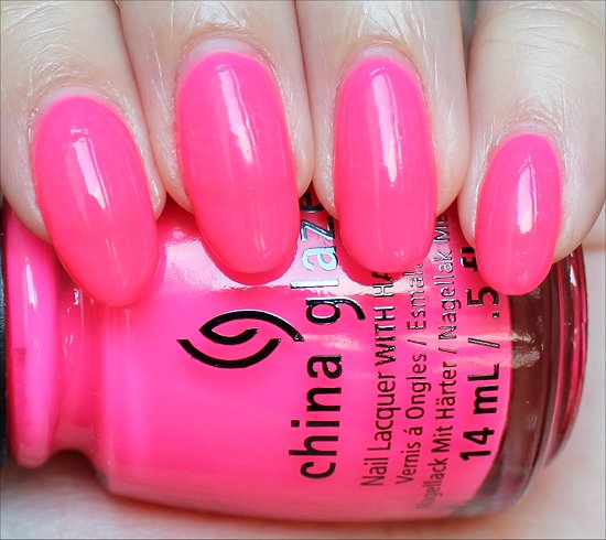 China Glaze Heat Index Swatch & Review