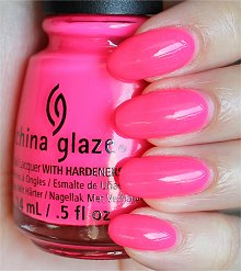 China Glaze Heat Index Swatches & Review