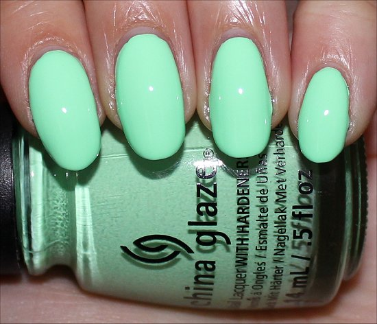 China Glaze Highlight of My Summer Swatch, Review & Pictures