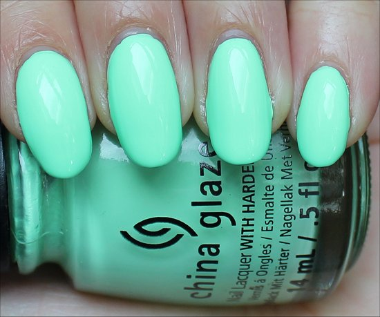 China Glaze Highlight of My Summer Swatch & Review