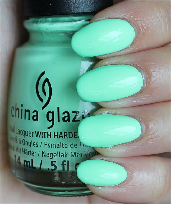 China Glaze Highlight of My Summer Swatches & Review