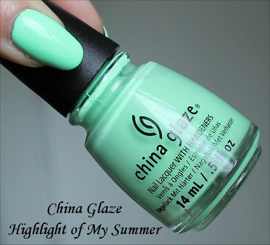 China Glaze Highlight of My Summer