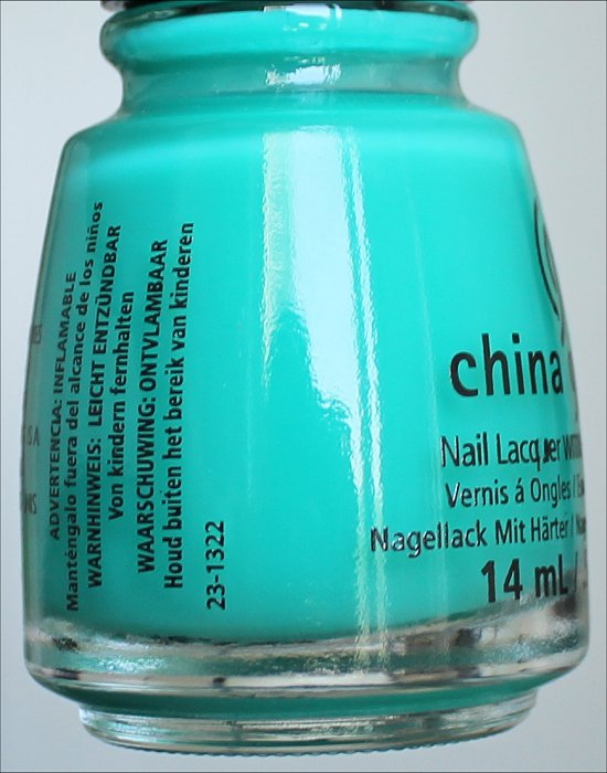 China Glaze Keepin' It Teal Review & Pictures