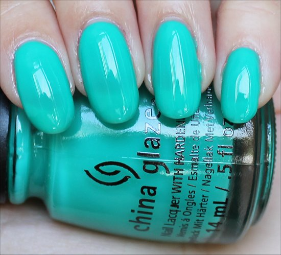 China Glaze Keepin' It Teal Review & Swatch
