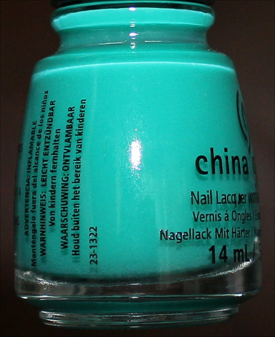 China Glaze Keepin' It Teal Sunsational Collection