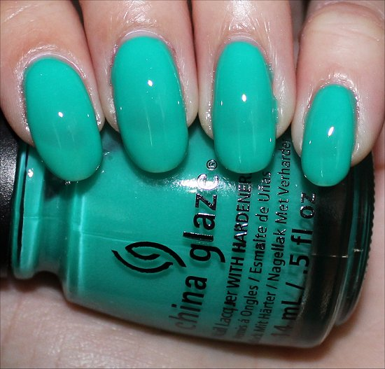 China Glaze Keepin' It Teal Swatch, Review & Photos