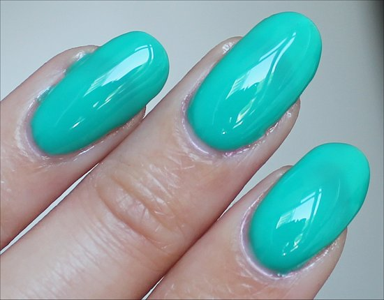 China Glaze Keepin' It Teal Swatch