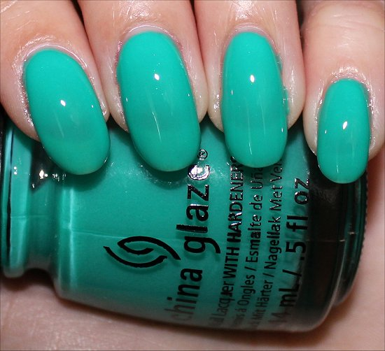 China Glaze Keepin' It Teal Swatches, Review & Photos