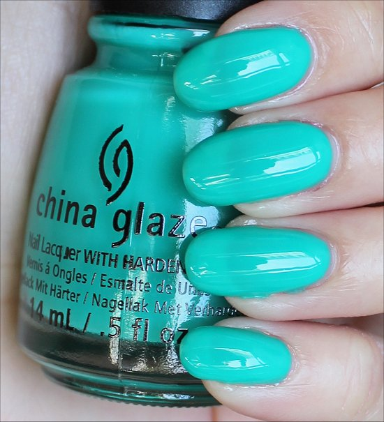 China Glaze Keepin' It Teal Swatches & Review
