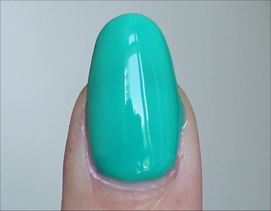 China Glaze Keeping' It Teal Swatches