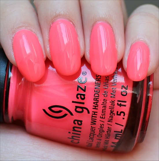 China Glaze Shell-o Review & Swatch