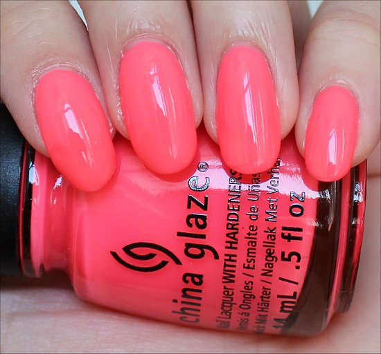 China Glaze Shell-o Review & Swatches