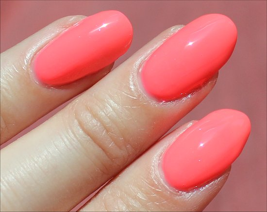 China Glaze Shell-o Sunsational Swatch