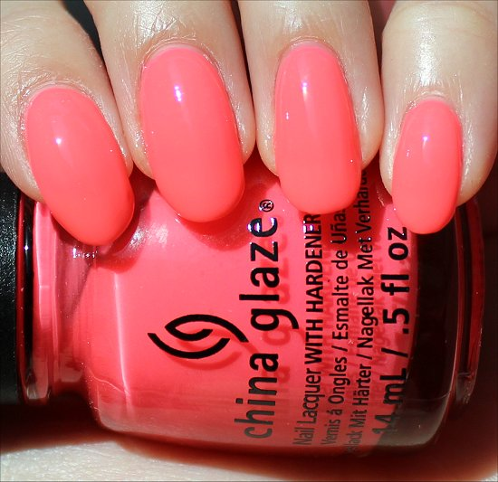 China Glaze Shell-o Swatches, Review & Photos