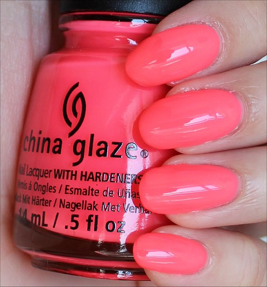 China Glaze Shell-o Swatches & Review