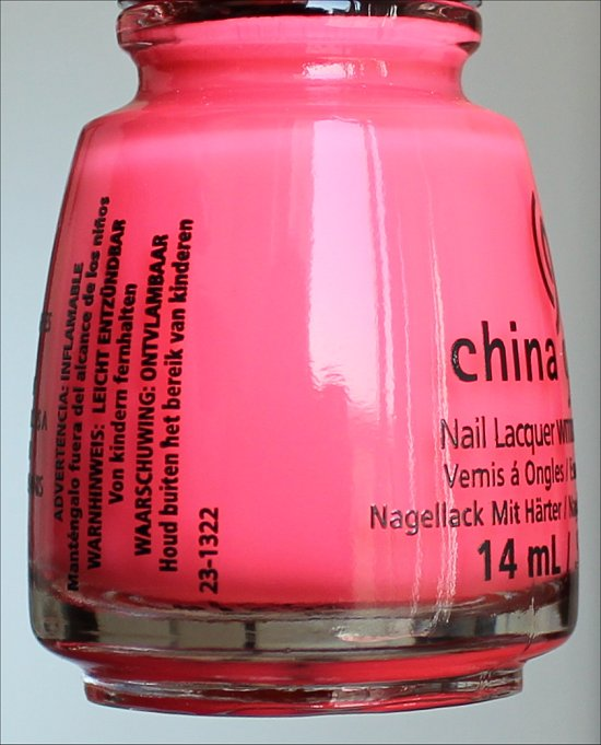 China Glaze Sunational Shell-o Review & Pictures