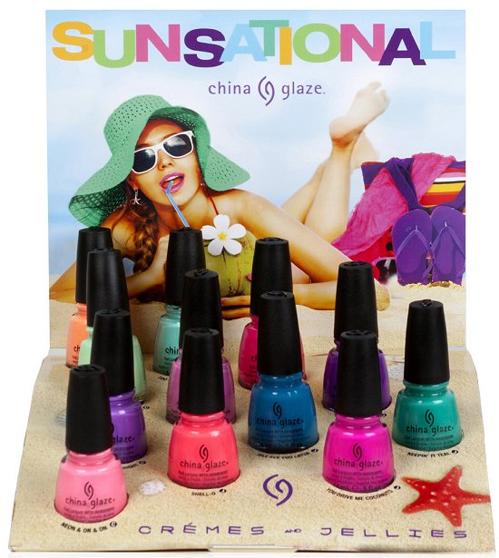 China Glaze Sunsational Collection Press Release & Promo Pictures