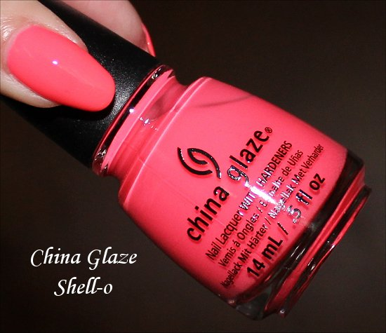 China Glaze Sunsational Collection Shell-o