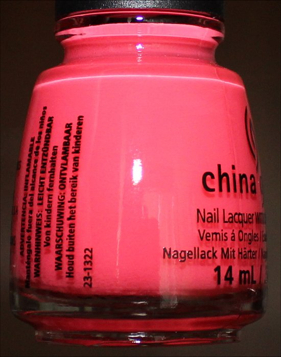 China Glaze Sunsational Collection Shello