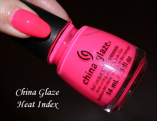 China Glaze Sunsational Heat Index Swatch & Review