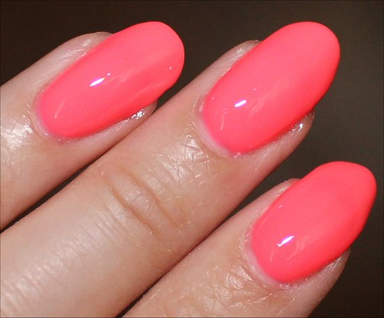 China Glaze Sunsational Shell-o Swatch & Pics