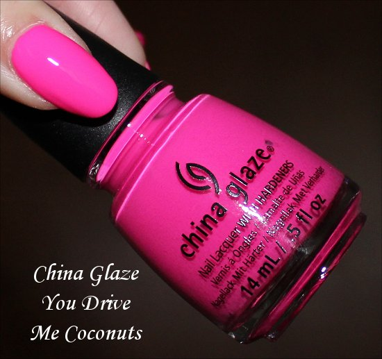 China Glaze You Drive Me Coconuts Review, Swatch & Photos