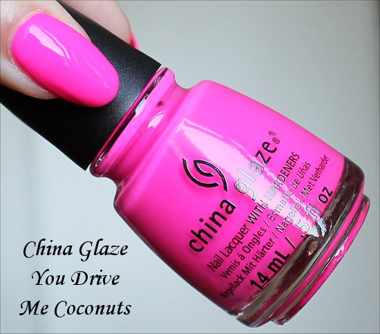 China Glaze You Drive Me Coconuts Sunsational Collection