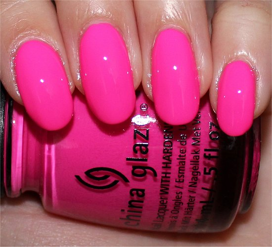 China Glaze You Drive Me Coconuts Sunsational Swatch, Review & Photos