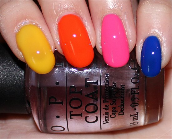 Flash OPI Neon Revolution Review