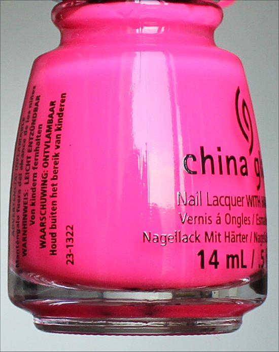 Heat Index China Glaze Sunsational Collection