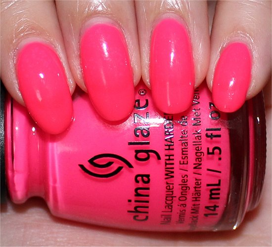 Heat Index by China Glaze Sunsational Collection Swatches, Photos & Review